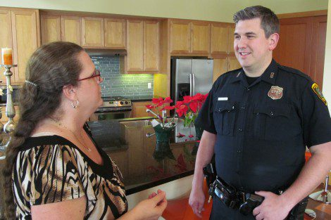 Officer Tim Vaca knows the ins and outs of Westchase District